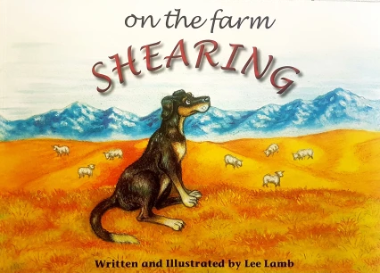 On the Farm Shearing by Jamie & Lee Lamb