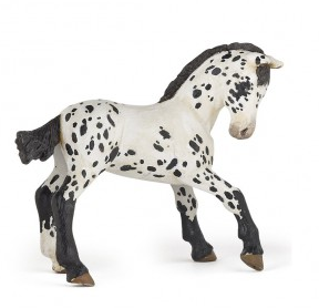 Papo Black Appaloosa Foal