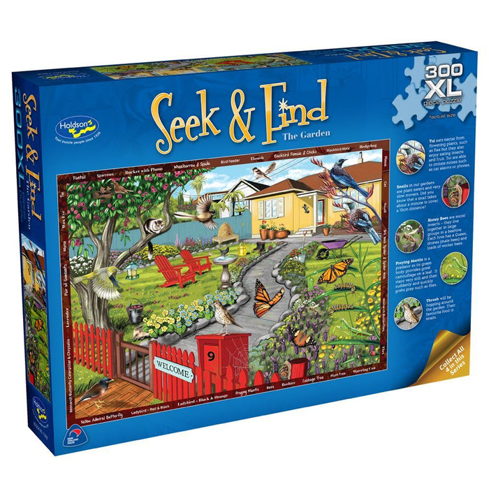 Seek & Find The Garden Puzzle (300pc XL)