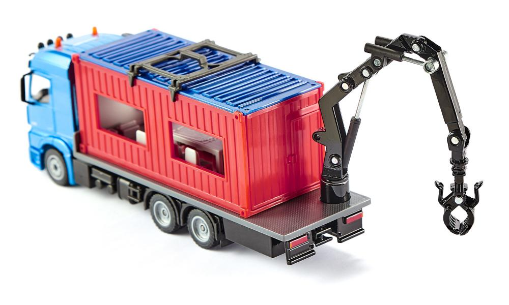 SIKU 3556 Truck with Construction Container