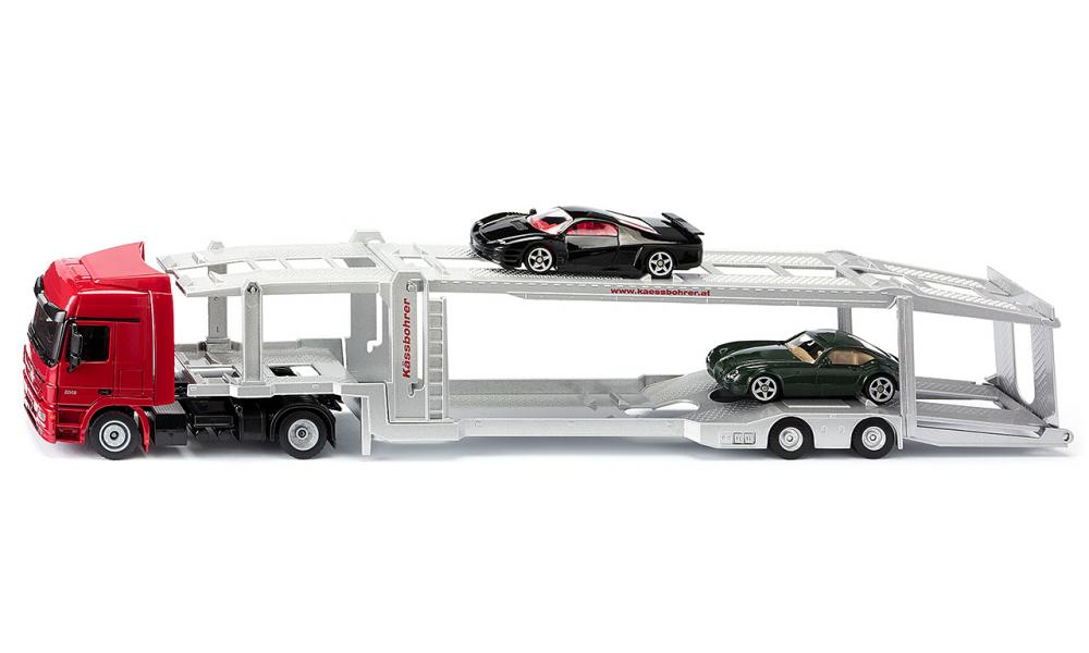 SIKU 3934 Car Transporter with Cars
