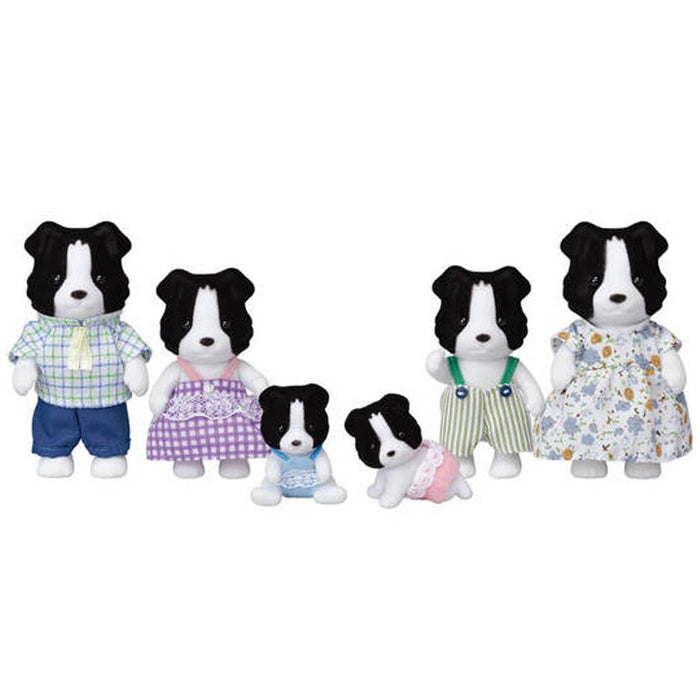 Sylvanian Families Border Collie Family