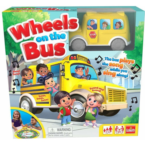 Wheels on the Bus Game