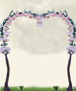 Blush Wedding Arch