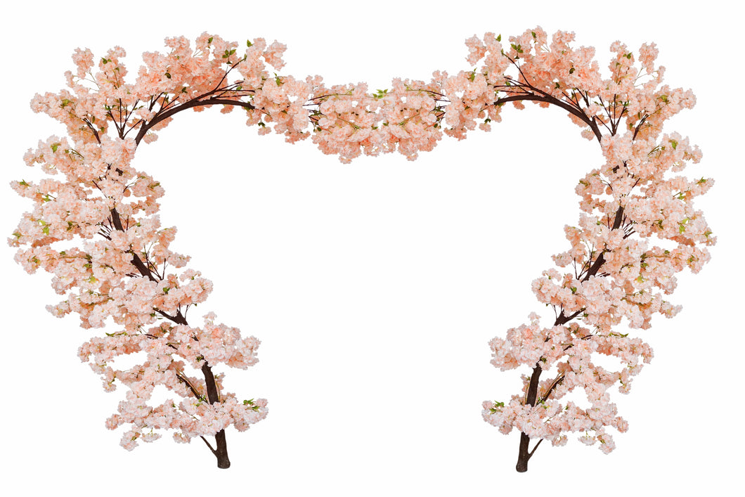 Cherry Blossom Wedding Arch