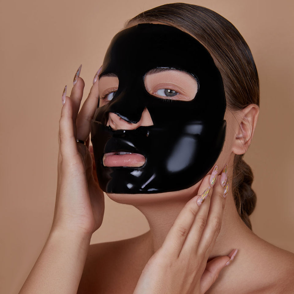 Hydrogel Face Mask with Bamboo Charcoal and Red Algae Extract