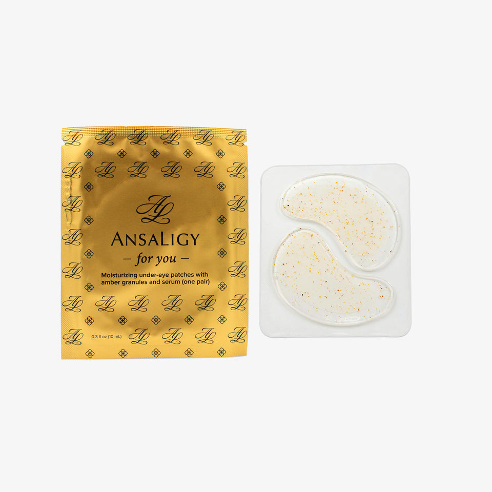 Moisturizing Under Eye Patches with Amber Granules and Serum