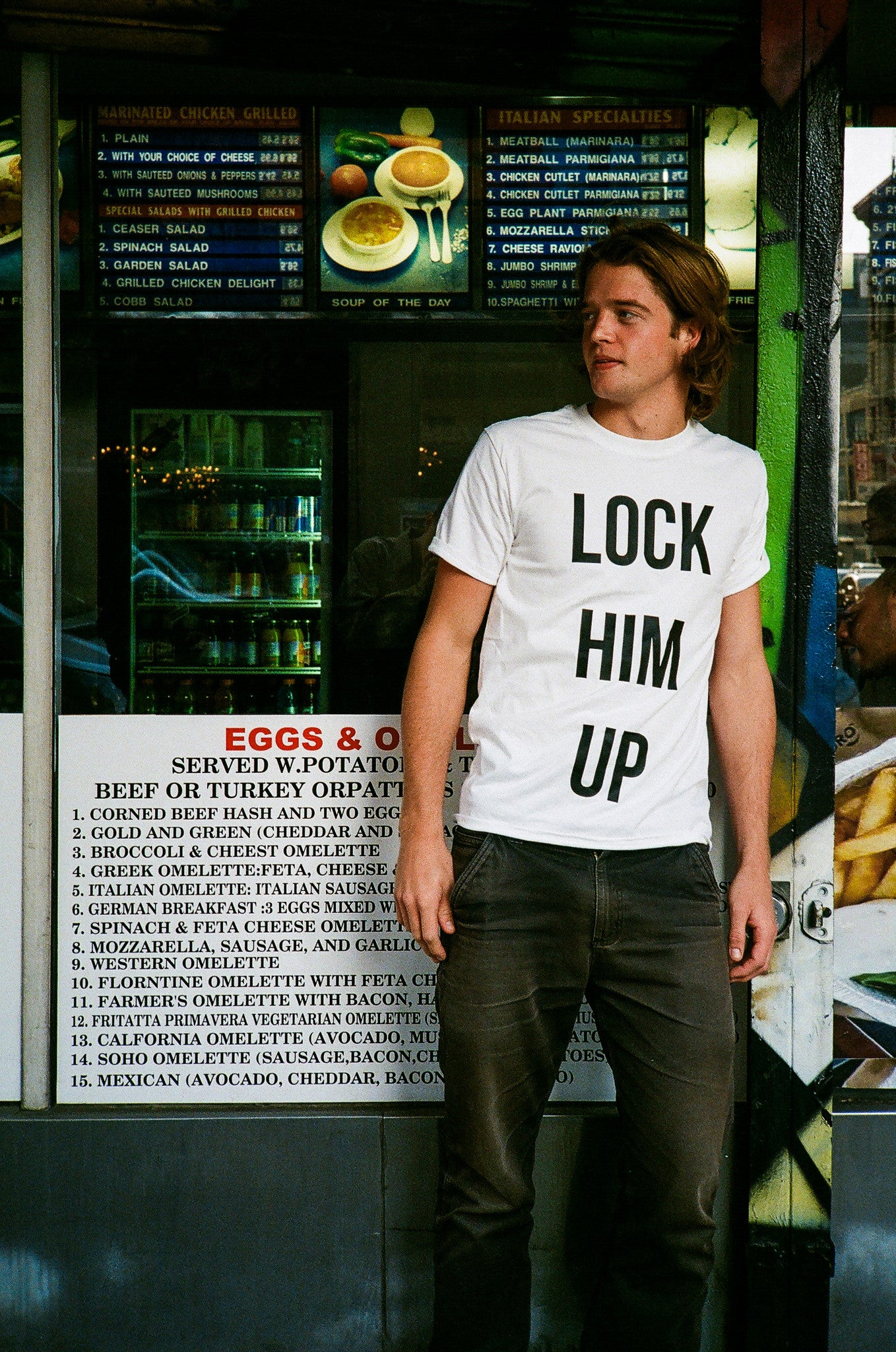 Lock Him Up - Shirt