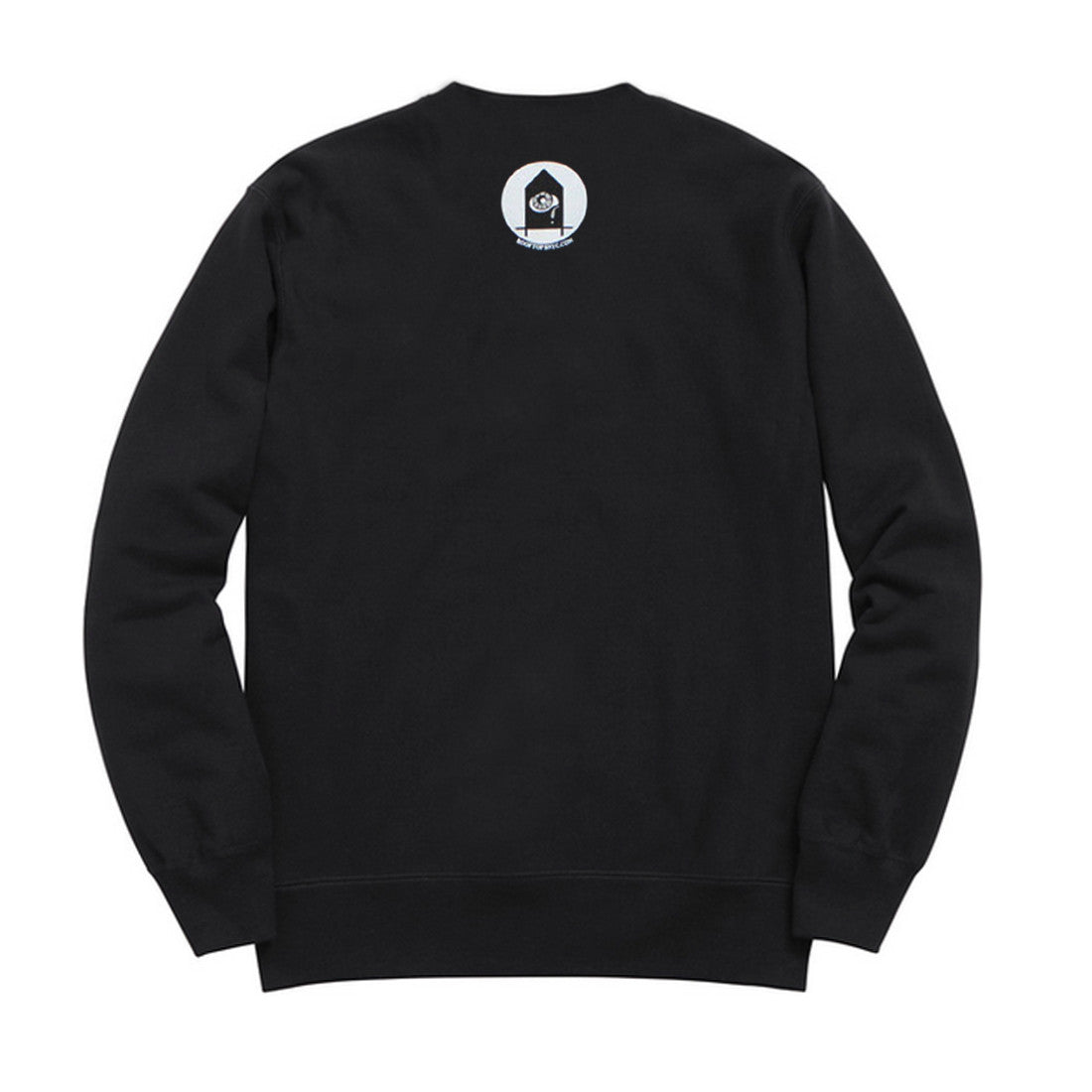 I Met God, She's Black - BLACK Crewneck