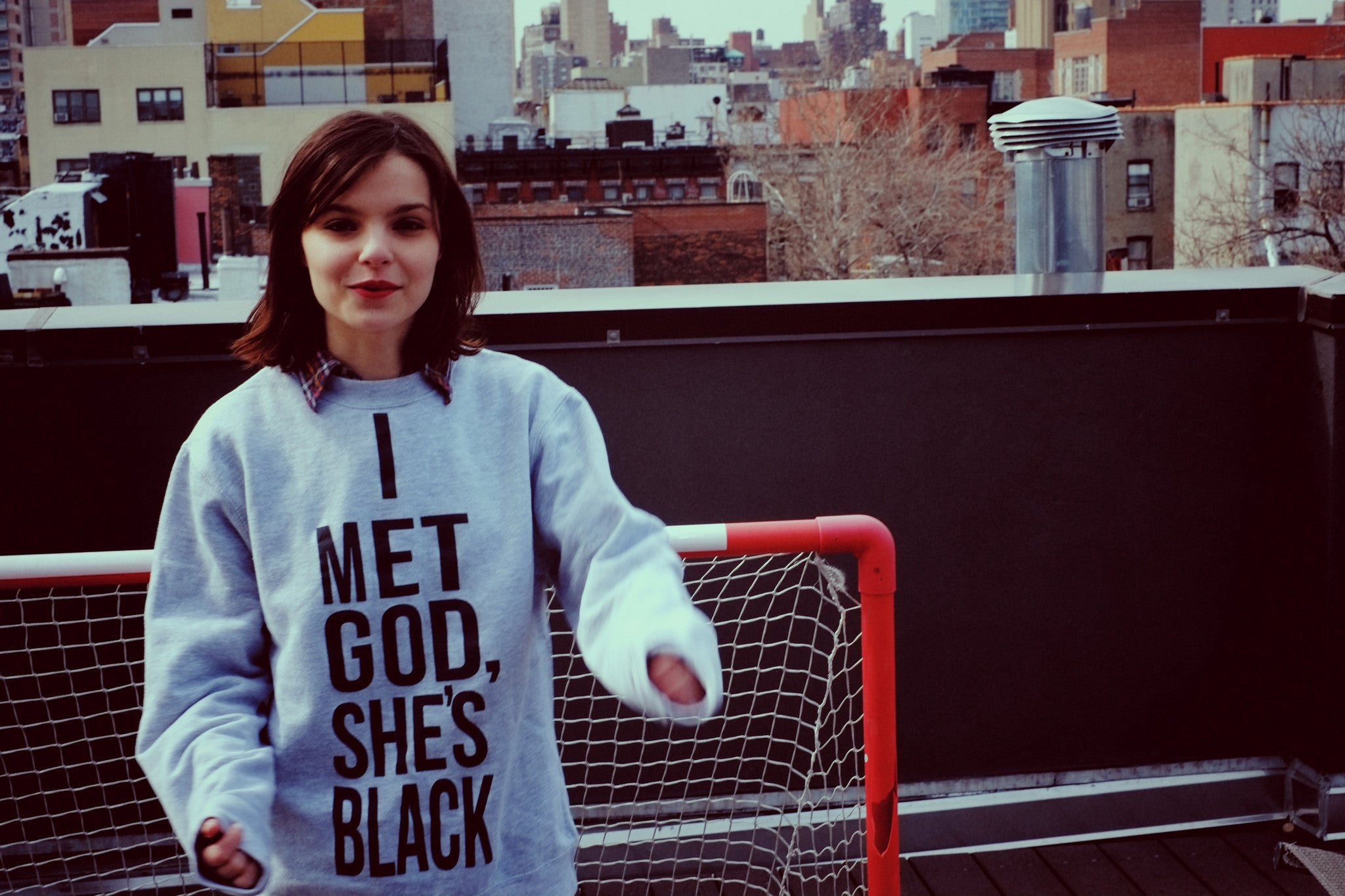 I Met God, She's Black - LIMITED Crewneck