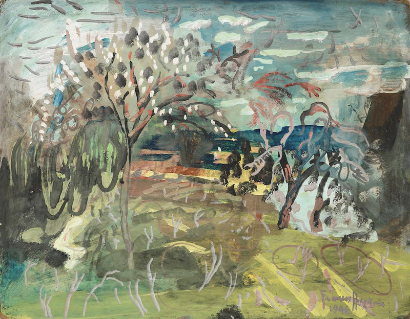 Frances Hodgkins - Cherry tree at 'The Croft', Bradford on Tone, Taunton *PRE ORDER