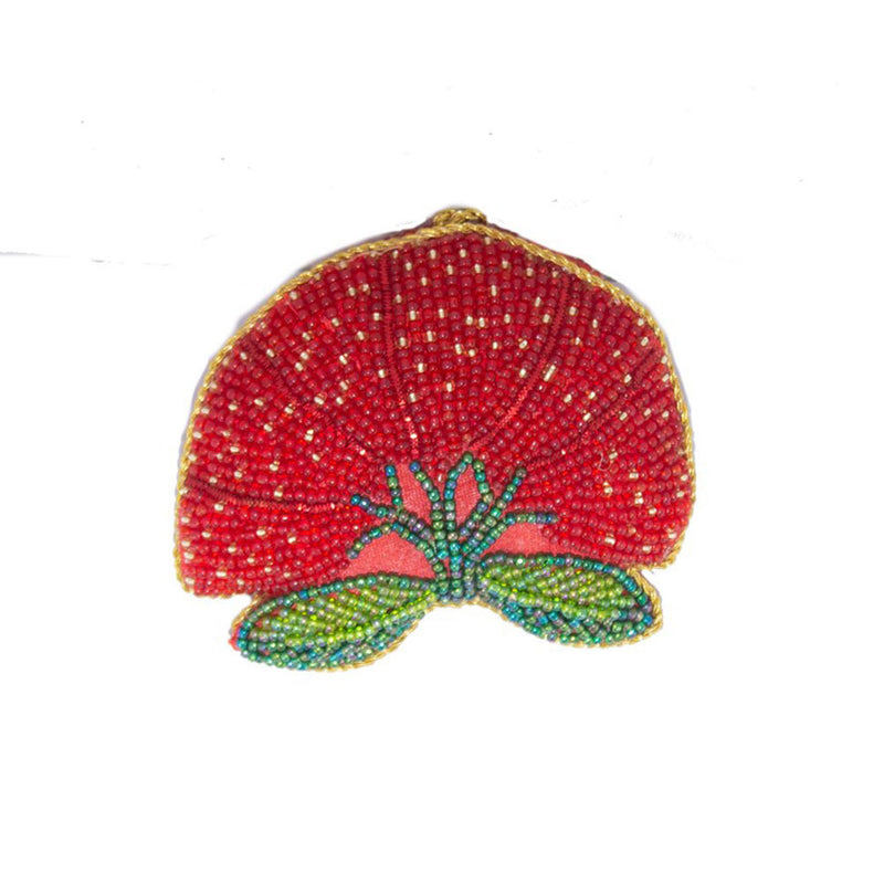 Decoration - All beaded front Pohutukawa - Summer 2020