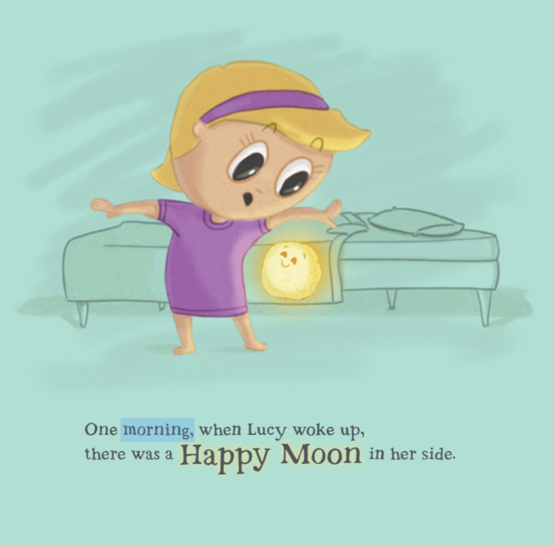 Happy Moon in My Side