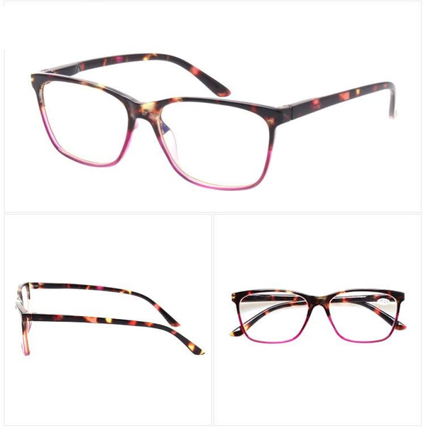 Stylish Rectangular Reading Glasses - BERLINS