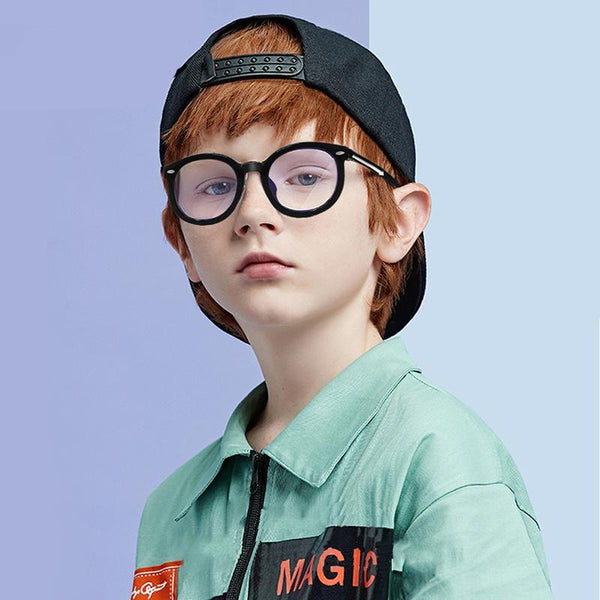 Round Anti Blue Light Kids Glasses Optical Frame - BERLINS