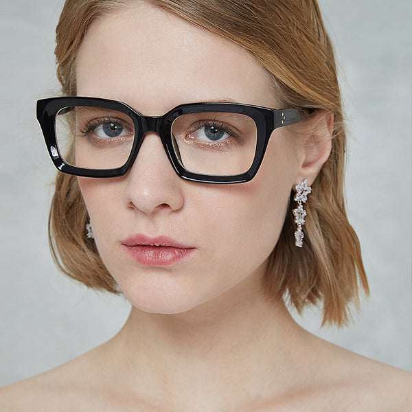 Women Retro Oversized Eyeglasses - BERLINS