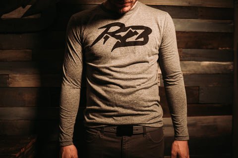 Grey RB long sleeve