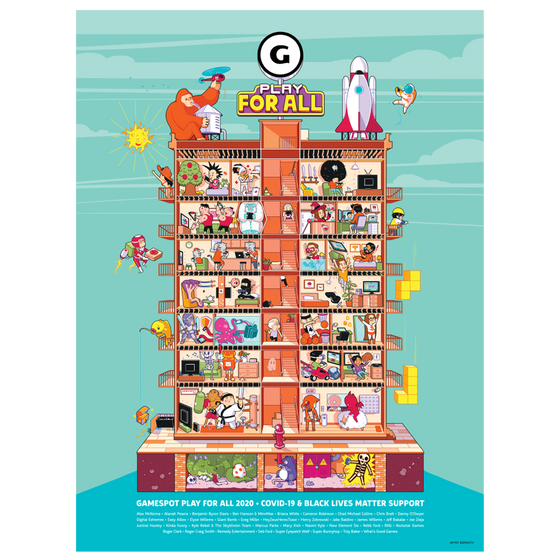 GameSpot - Play For All Poster