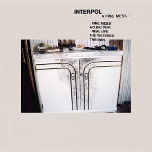 INTERPOL - A FINE MESS (CD1/12'')