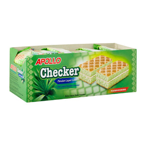 Apollo Checker Layer Cake Pandan
