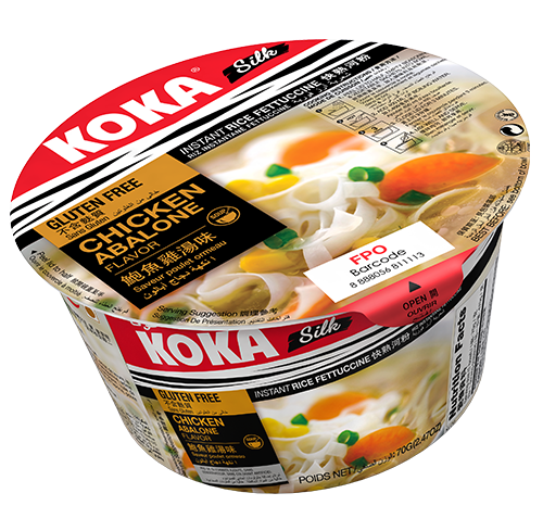 Koka Bowl Rice Noodles Chicken Abalone 70g