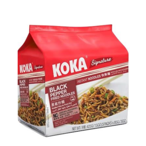 Koka Signature Black Pepper Fried (5's x 85g)