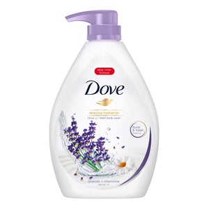 Dove Body Wash Lavender + Chamomile Hydration 1L