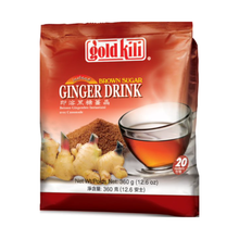 Load image into Gallery viewer, Gold Kili Brown Sugar Ginger Drink (20's X 18g)