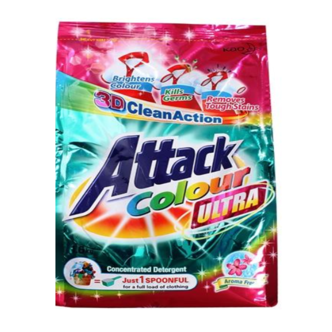 Kao / Attack Colour Ultra Powder Detergent 1.6kg