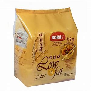Koka Non Fried Plain Noodle 350g (Low Fat)