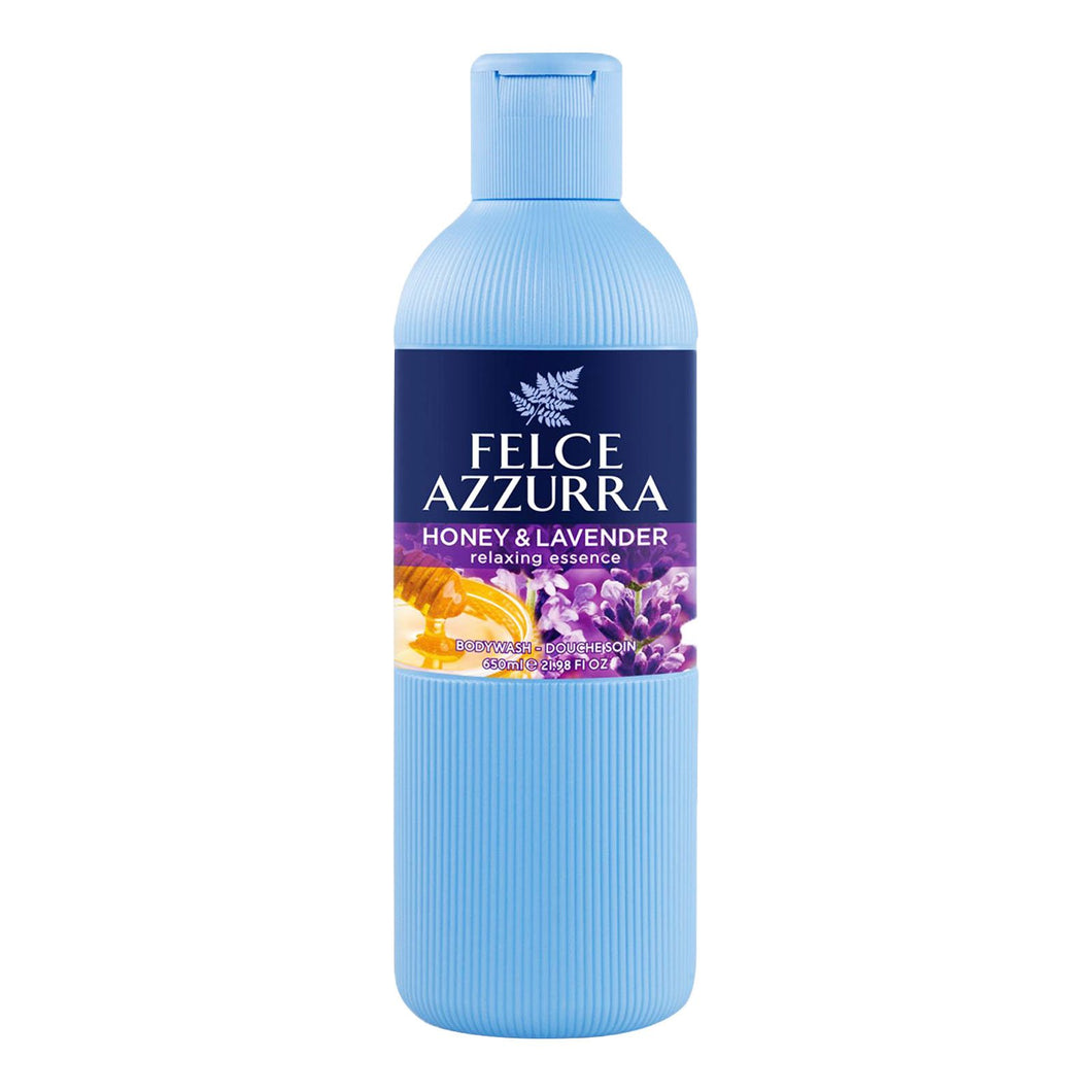 Felce Azzurra Body Wash - Honey & Lavender 650ml