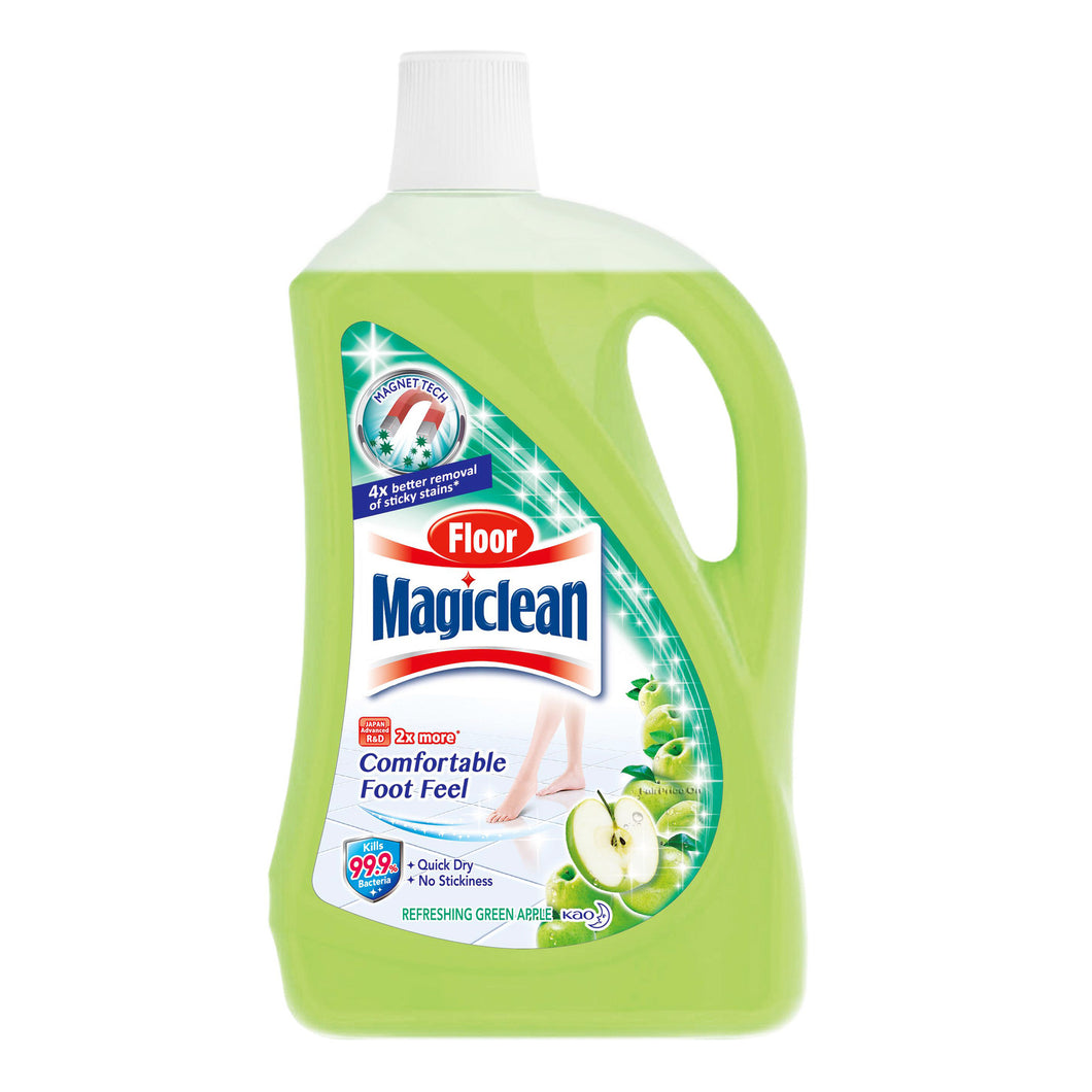 Kao Magiclean Floor Cleaner (Green Apple) 2L