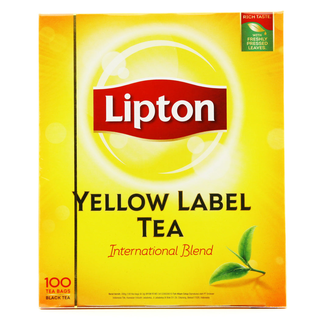 Lipton Yellow Label Tea 2g x 100's