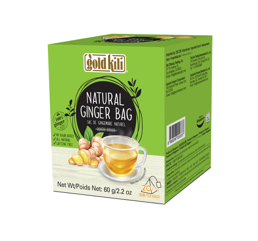 Gold Kili Natural Ginger Bag (20's X 3g)