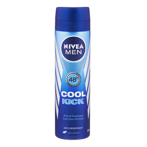 Nivea Men Cool Kick Anti Perspirant Deodorant Spray 150ml