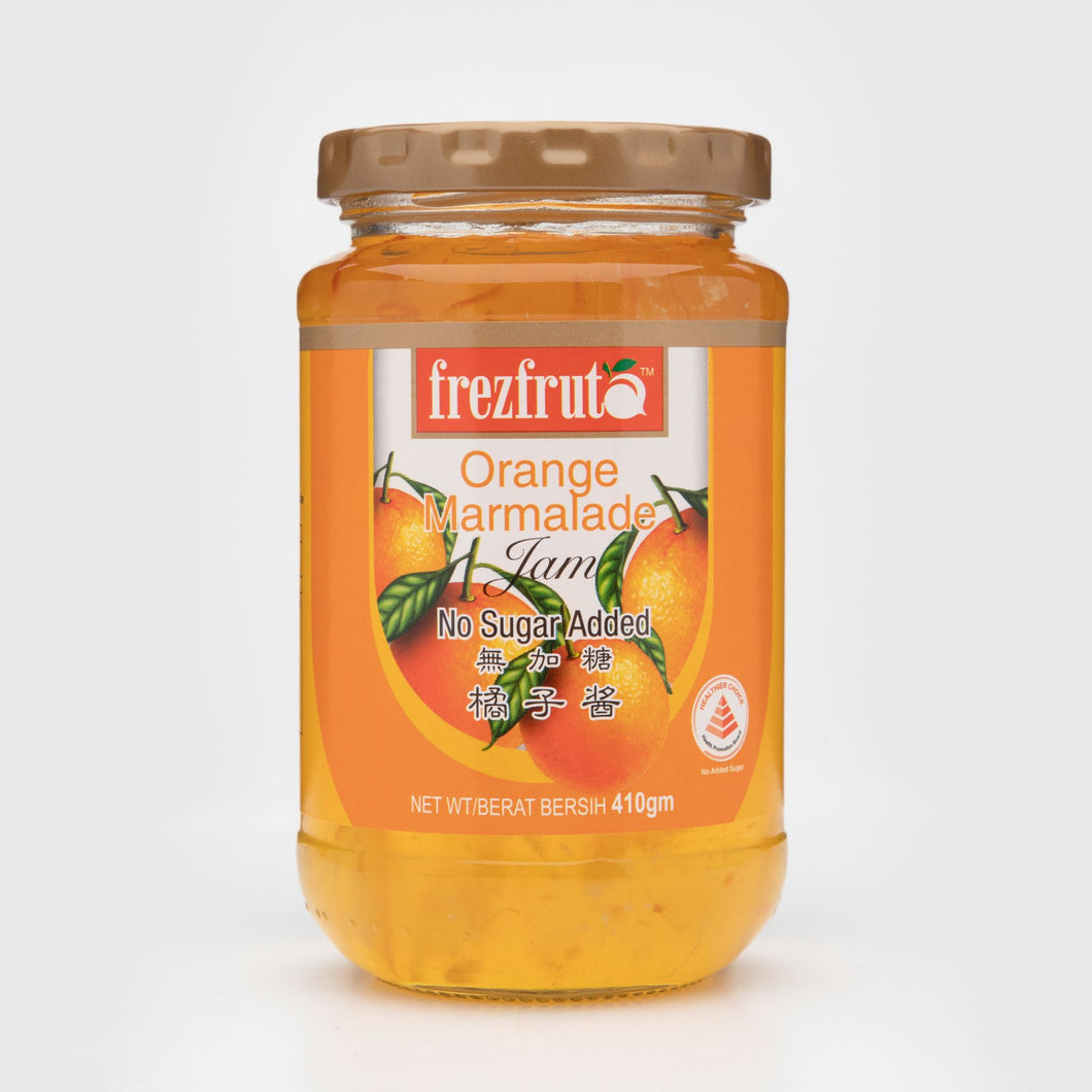 Frezfruta Sugar Free Orange Marmalade Jam 410g