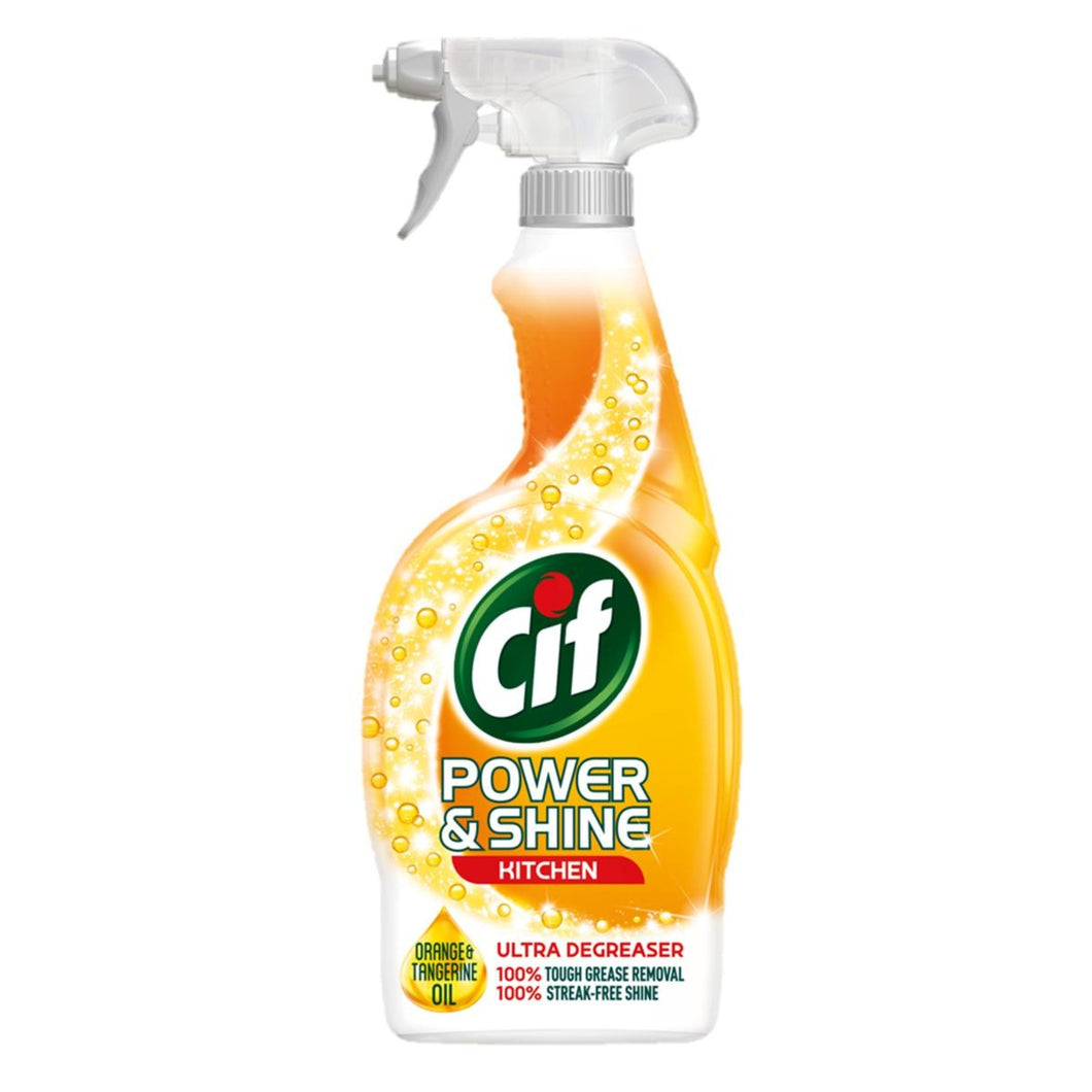 Cif Power & Shine Kit Ultra-Kitchen Ultra Degreaser 700ml