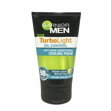 Load image into Gallery viewer, Garnier Men Turbo Light Oil Control Cooling Foam 100ml
