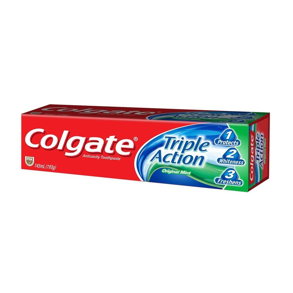 Colgate Triple Action Original Mint Toothpaste 200g