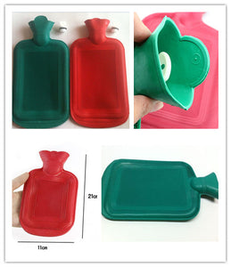 Hot Water Bottle Thick High Density Rubber, Hot Water Bag Hand & Body Warming,