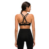 Padded Strappy Sports Yoga Tops