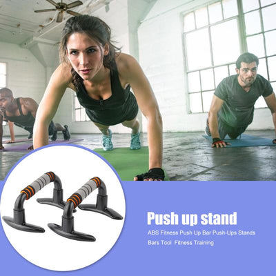Push-Ups Bars Stands Grey I-shaped Stand