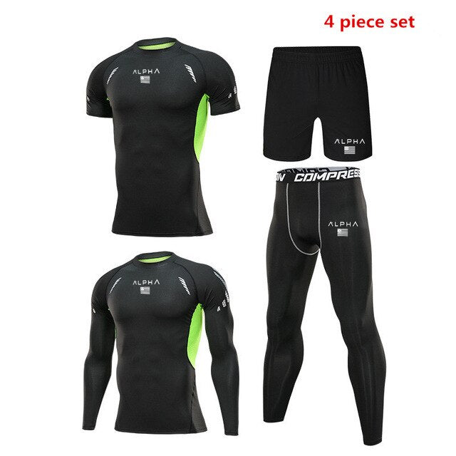 Men's Training Exercise Workout Tights