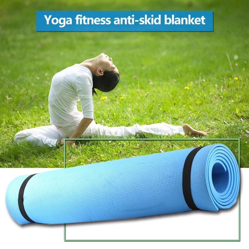 Non-Slip Gymnastic Pilates Exercise Mat