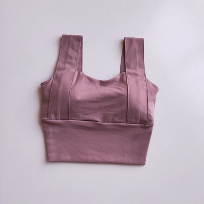 U-Shaped Sports Fitness Yoga Bras