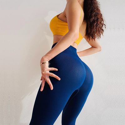 Color Energy Seamless Yoga Leggings
