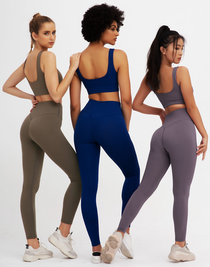Gym Clothing Athletic Yoga Set