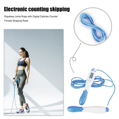 Adjustable Ropeless Skipping Rope Tool