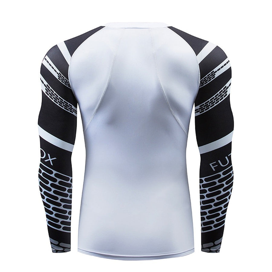 Men Long Sleeve Yoga Set Fitness