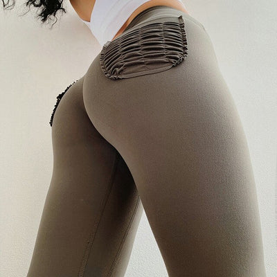 High Waist Naked-Feels Gym Leggings